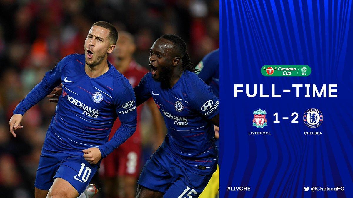 Chấm điểm kết quả Liverpool 1-2 Chelsea
