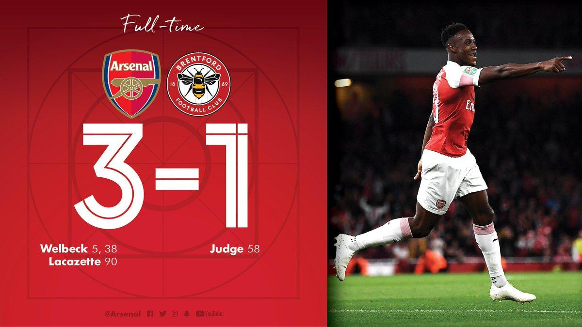 Kết quả Arsenal 3-1 Brentford