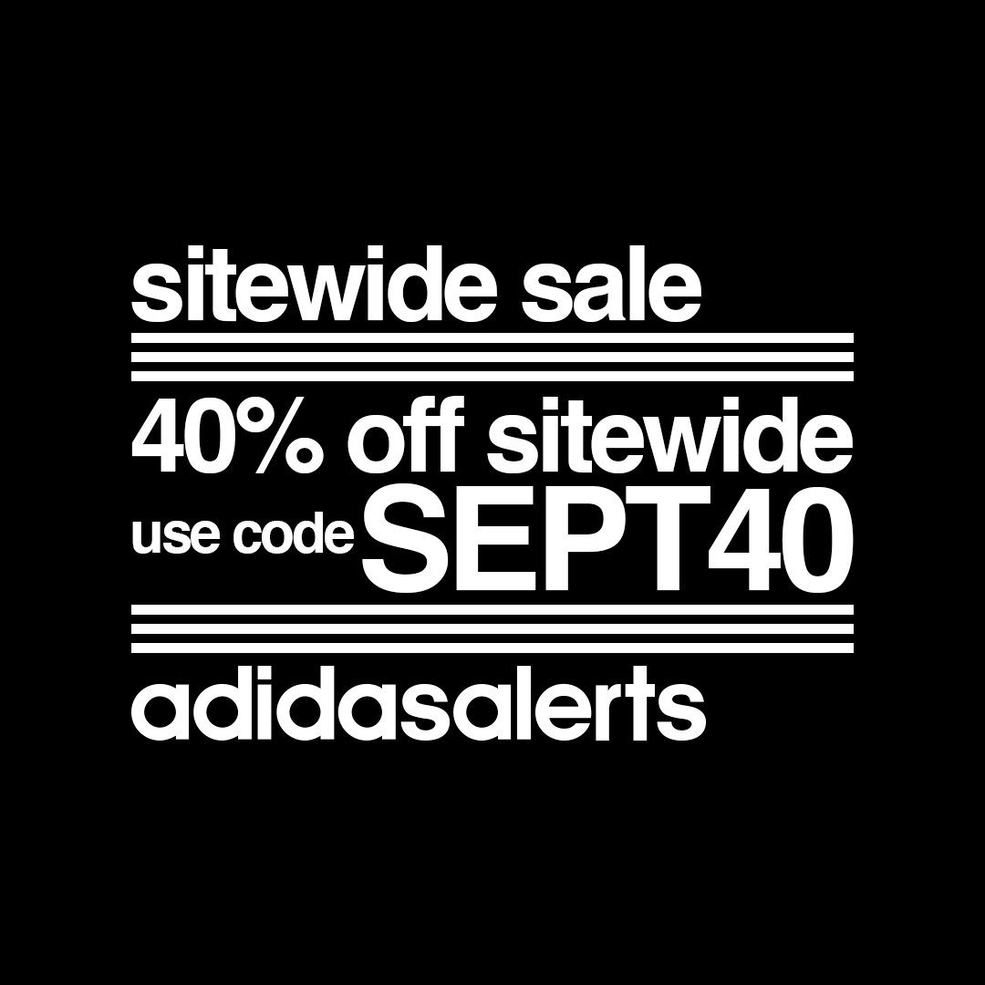 Get 40% OFF Adidas Sitewide Coupons plus Free Shipping