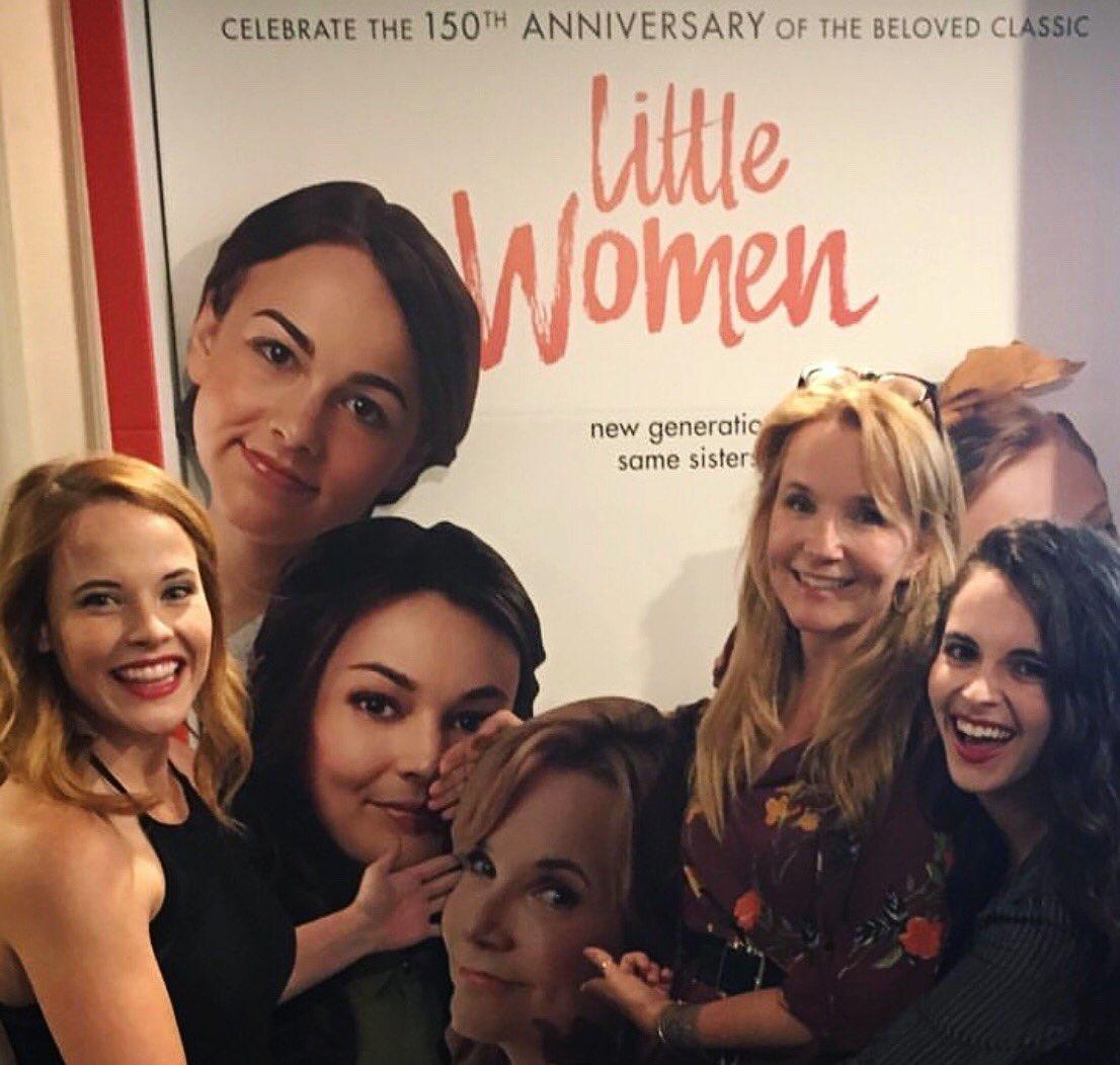 #Repost @LeaKThompson 😊 #littlewomenfilm