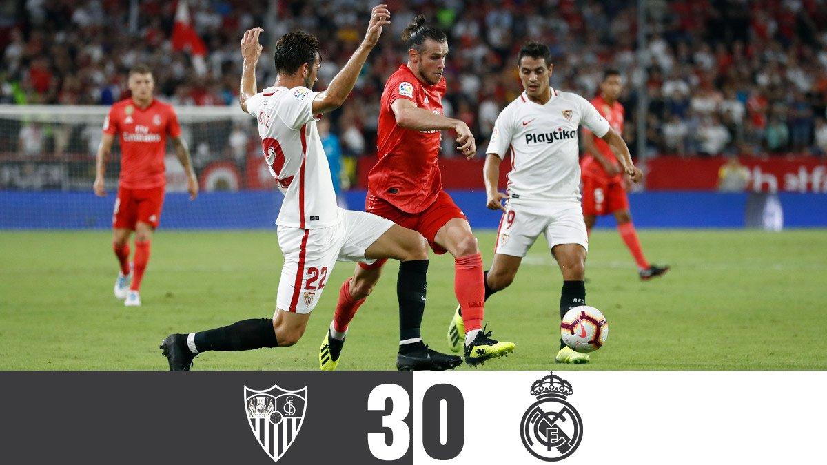Sevilla 3-0 Real Madrid: