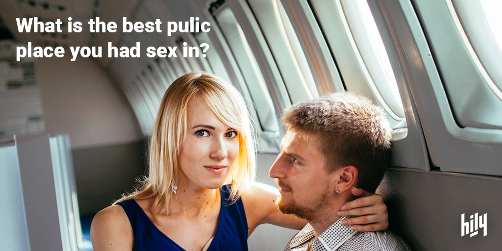 best places to fuck in public