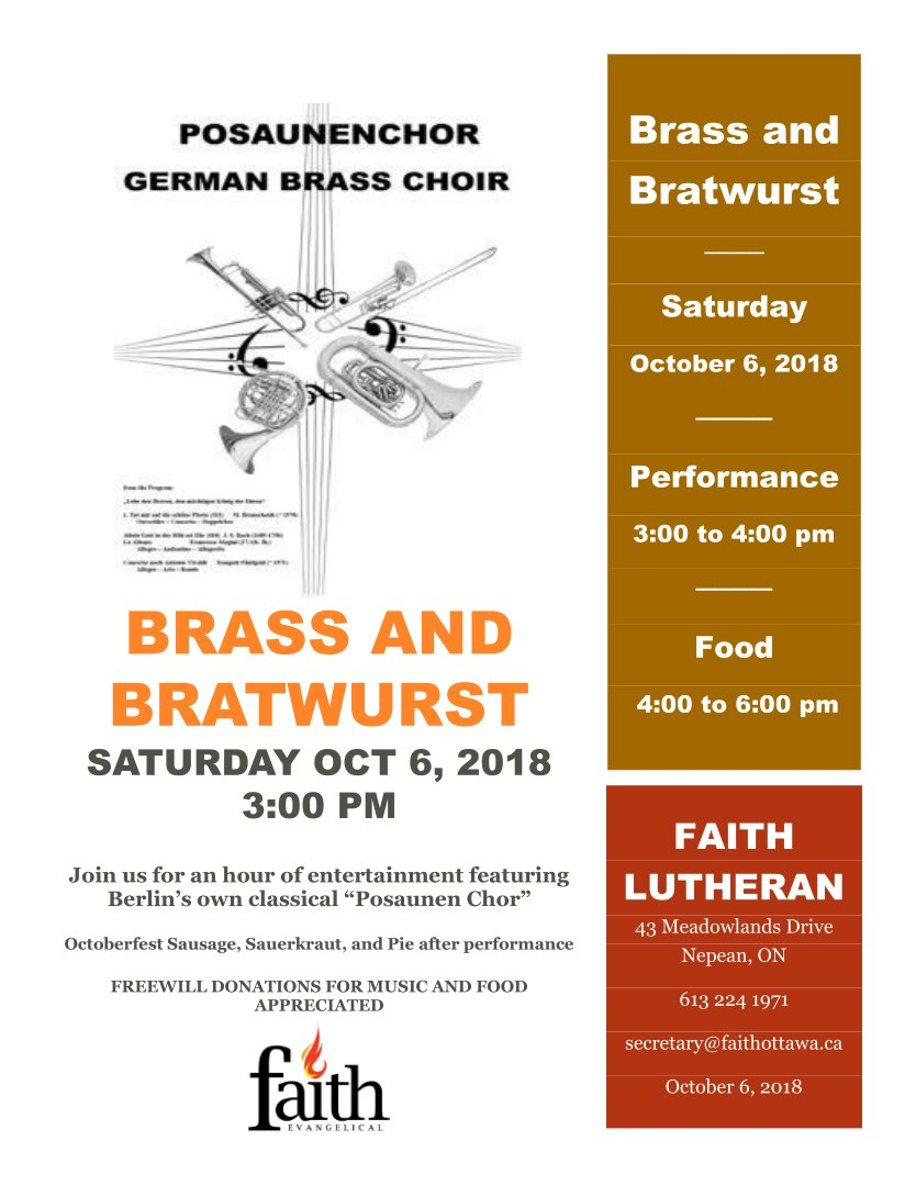 Brass and Bratwurst