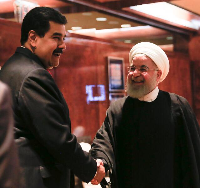 Maduro se reunió en New York con representantes de Irán, Rusia y Jamaica para estrechar lazos de cooperación DoDbwI-U4AAgl2_