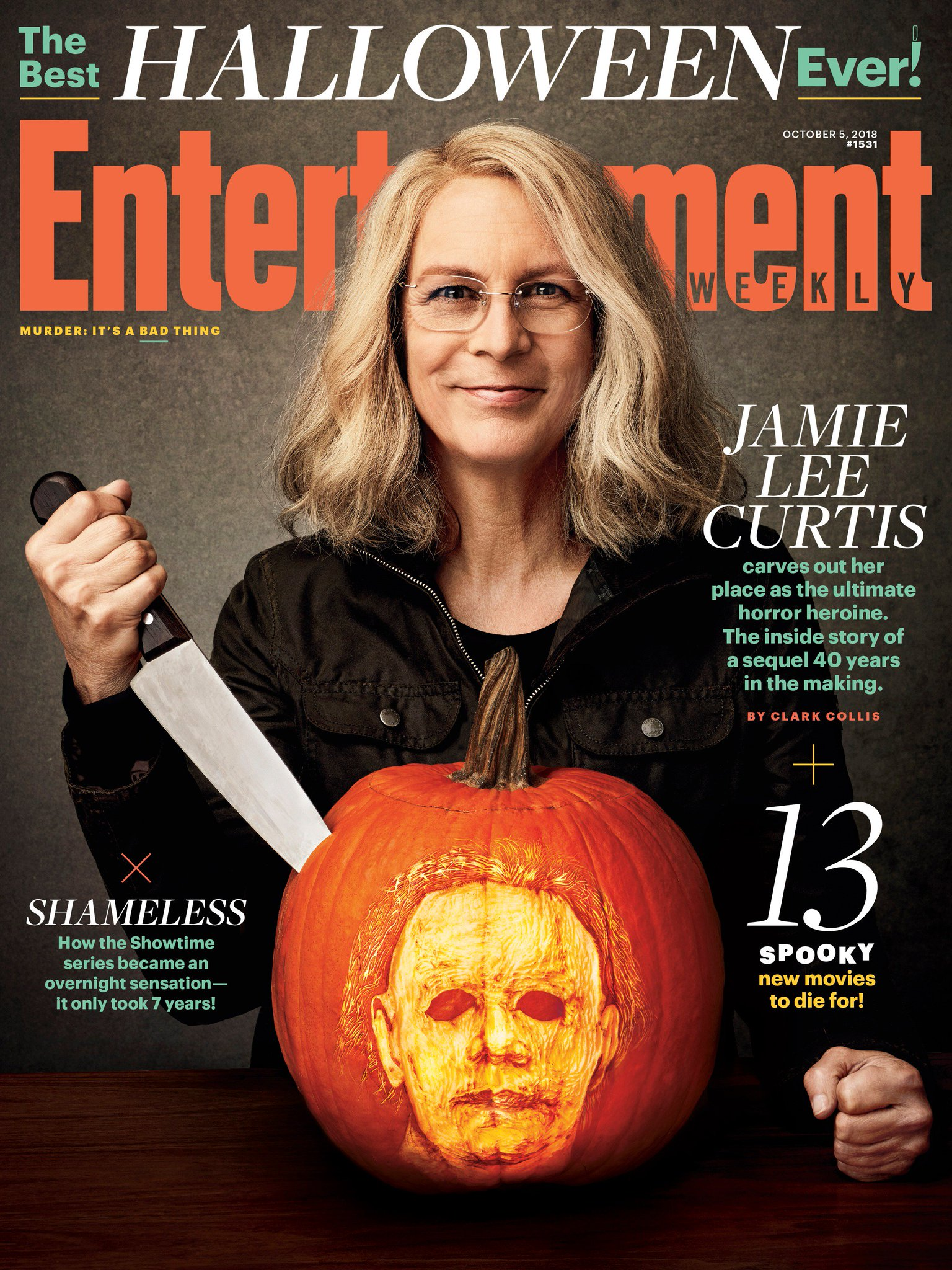 Jamie Lee Curtis On The 'Halloween' Film 'EW' Cover - SOUND