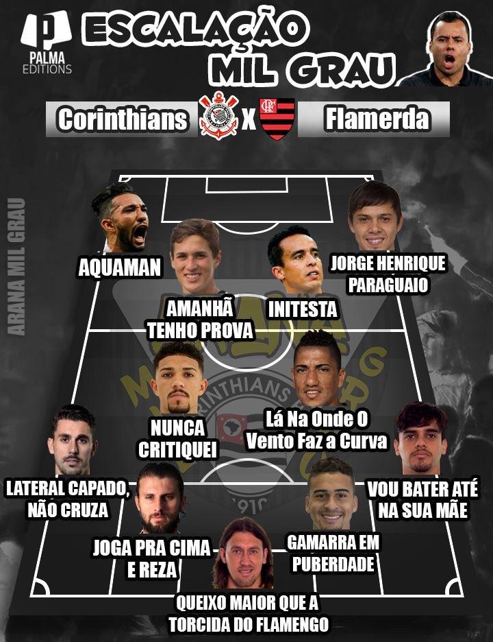Corinthians On Twitter Timão Pronto Para O Duelo Com O