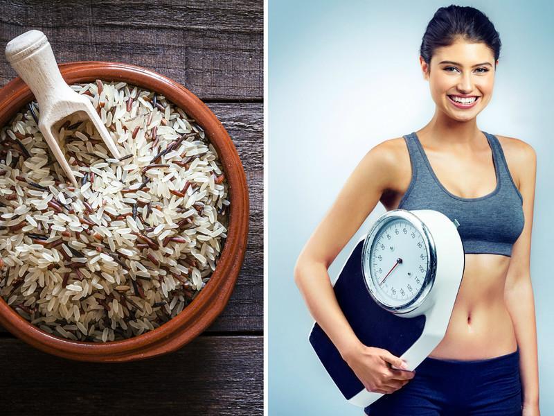 похудение на белом рисе