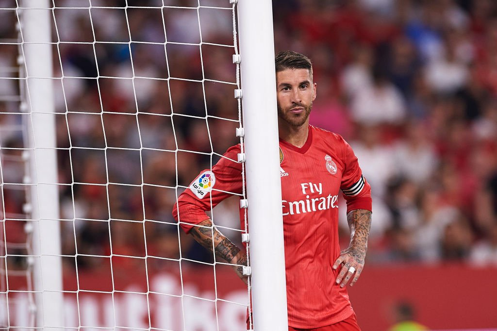 13c3bcabb75 Real Madrid were soundly beaten by Sevilla as they and Barcelona lost a La  Liga game