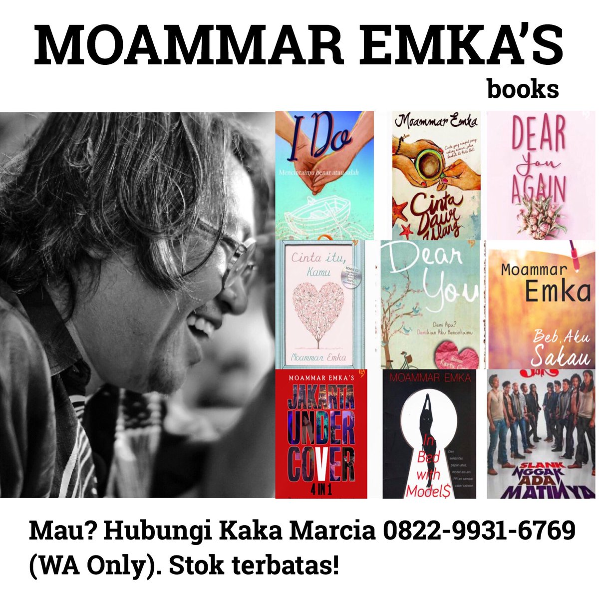 Ebook Novel Dear You Moammar Emka