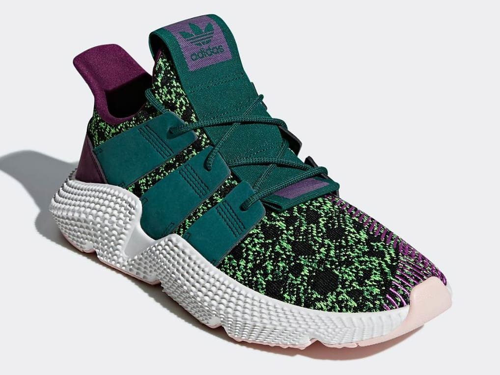 sports shoes c4d09 9885e Detailed look at the Cell Dragon Ball Z x Adidas Prophere https