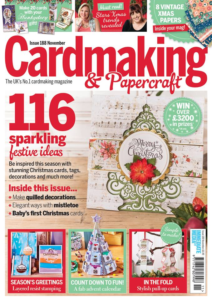 Cardmaking On Twitter The November Issue Is On Sale In The Uk And