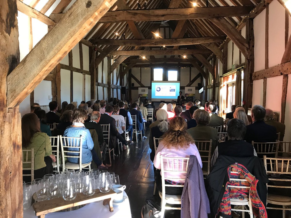 """RT @KathySlackEM3 Wonderful setting at @LoseleyPark for @CLAtweets master class on family run farms and estates. Richard Goring from @WistonSparkling """"understanding what people care about"""" is crucial. @enterprisem3 @EM3GrowthHub are here to help"""