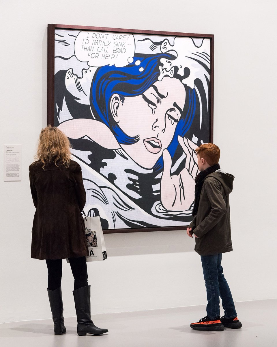"""NGV on Twitter: """"MoMA at NGV closes in under two weeks. Experience some of  the most iconic works from @MuseumModernArt's collection, including Roy  Lichtenstein's """"Drowning girl"""", 1963, these school holidays:  https://t.co/zw9w1TvuC3… https://t.co ..."""