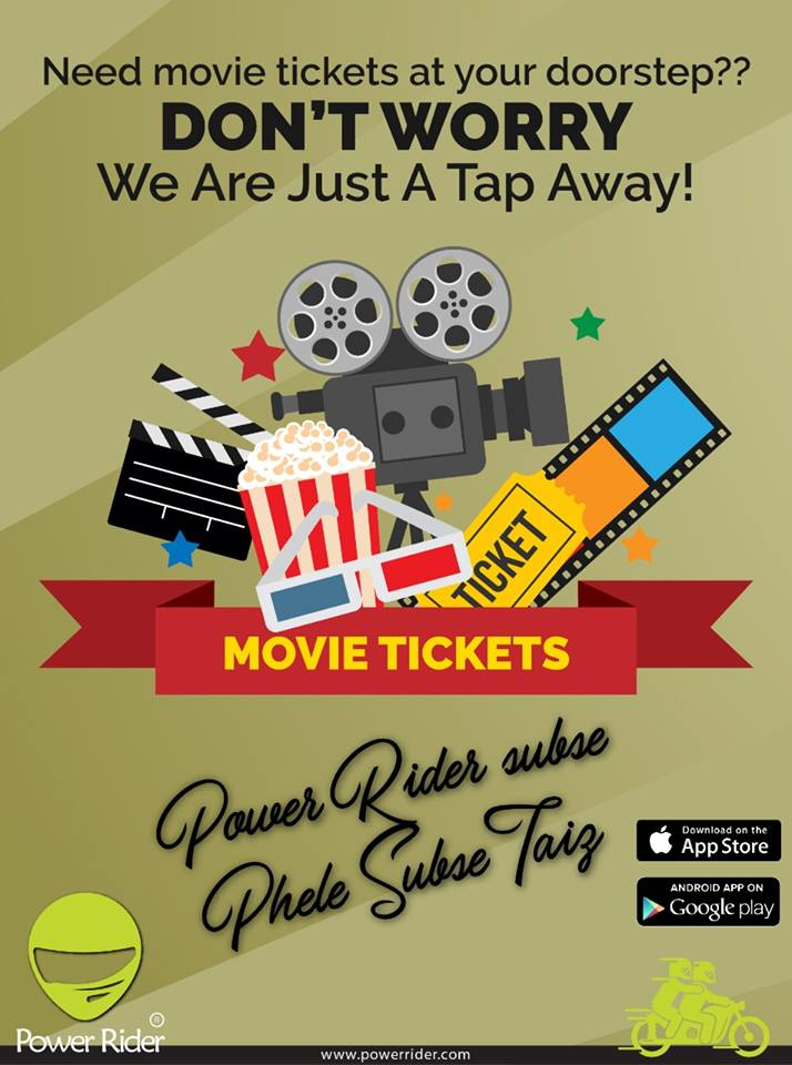 Need #Movie_Tickets At Your Doorstep? Don't worry, We're just a tap away.  Power Rider Sub se pehley sub se taiz  Go to this link to download our Android app https://t.co/R2kC0qJAOJ For Apple Phones / Tablets: https://t.co/SsXKx0hRen https://t.co/CfgnMsas0q