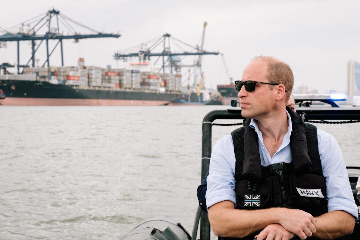 Engagement of the transport sector is essential in the fight to #EndWildlifeCrime — at Dar es Salaam Port The Duke of Cambridge saw some of the challenges faced by port operations in combatting the illegal wildlife trade.