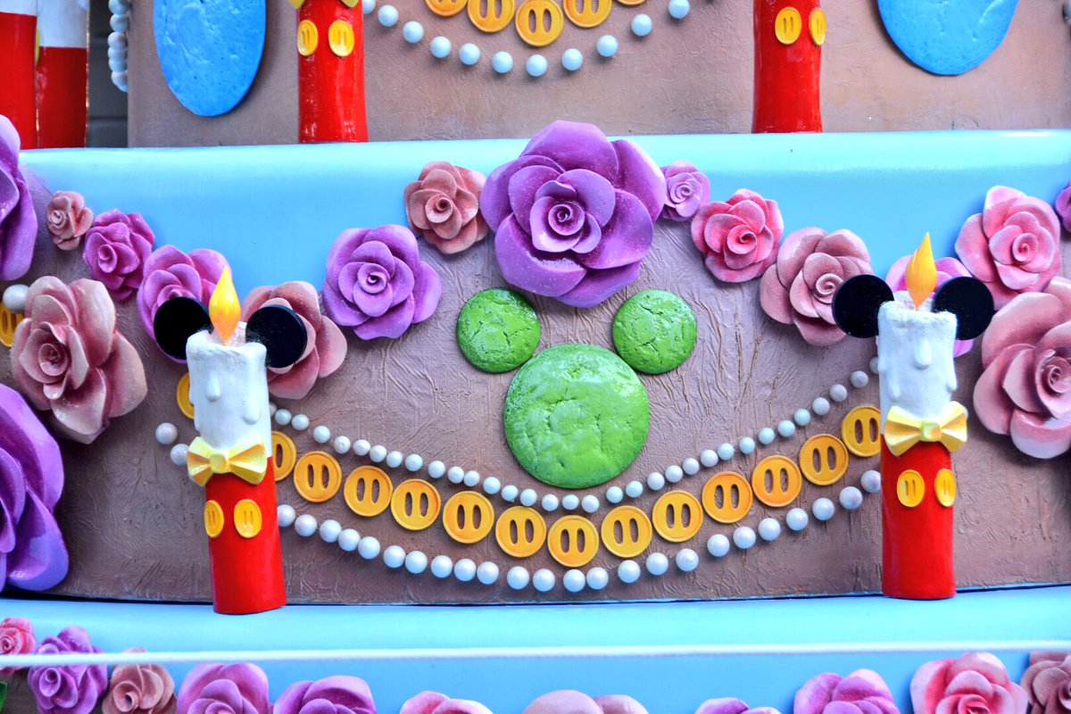 Pleasant Denise At Mousesteps On Twitter Mickeys 90Th Birthday Cake At Funny Birthday Cards Online Chimdamsfinfo