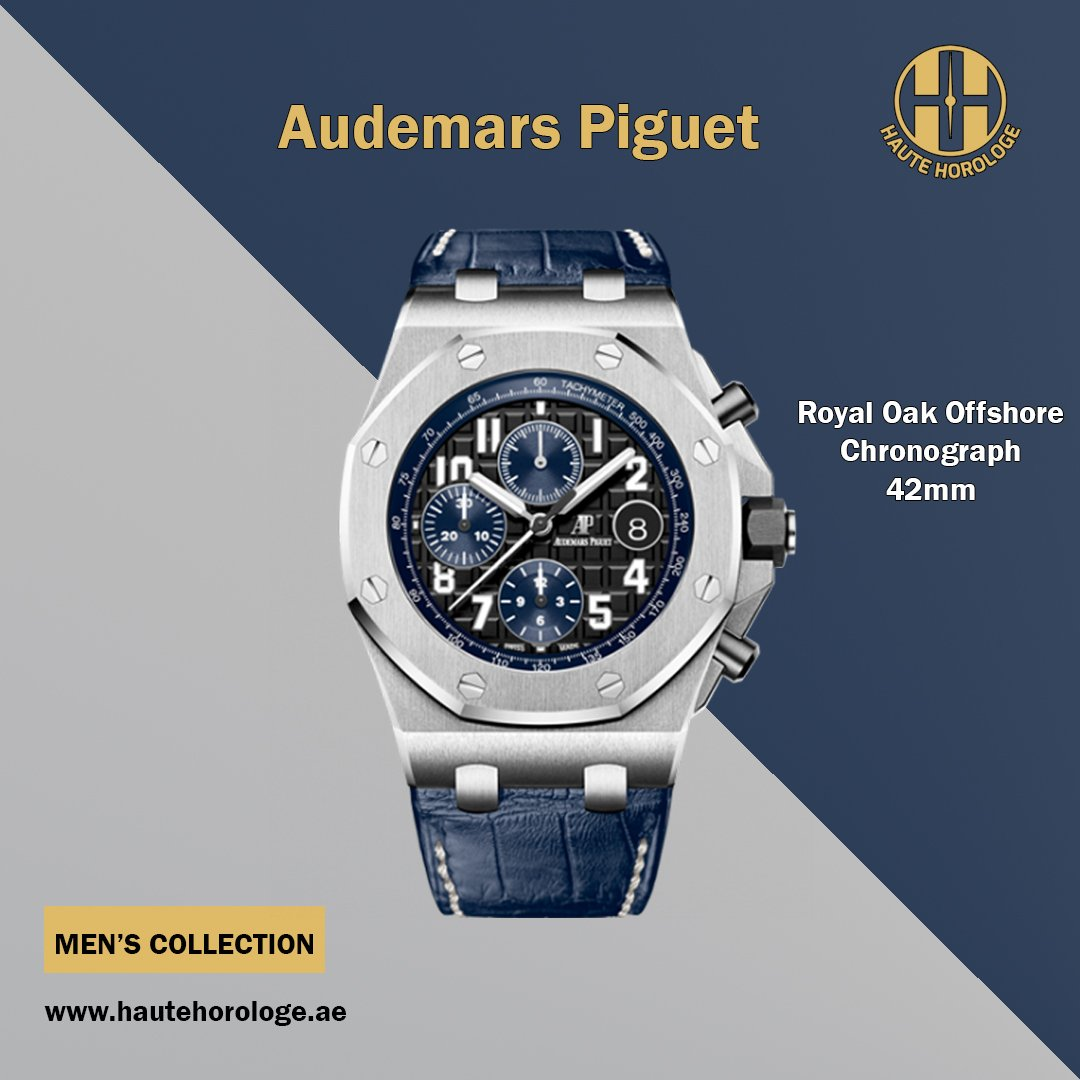 29f6bed3304b Haute Horologe offers Audemars Piguet Royal Oak Offshore Chronograph 42mm  26470ST.OO. A028CR.01 Men s Watches in Dubai Mark your most unforgettable  times ...