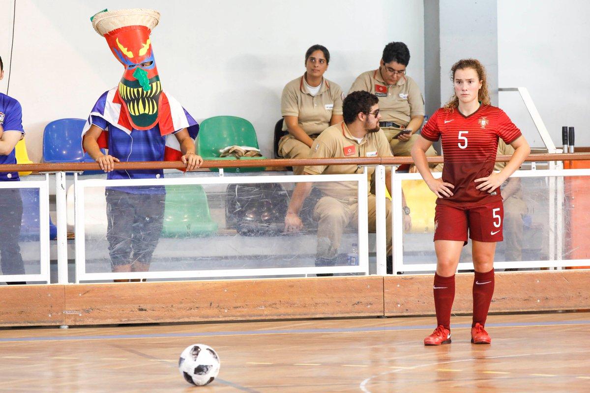 31636b225a A Seleção de Futsal Feminino de Sub-19 venceu ontem a Tailândia por 5-1