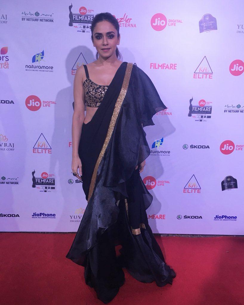 amruta khanvilkar, marathi, actress, latest, images, photos, pics, filmfare awards 2018