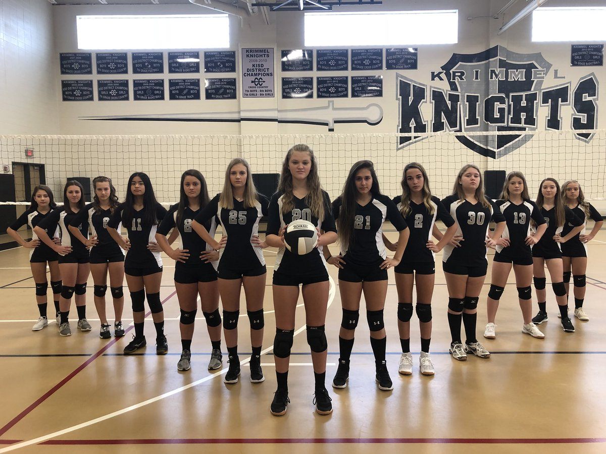 Krimmel Athletics On Twitter A And B Team 8th Grade Volleyball