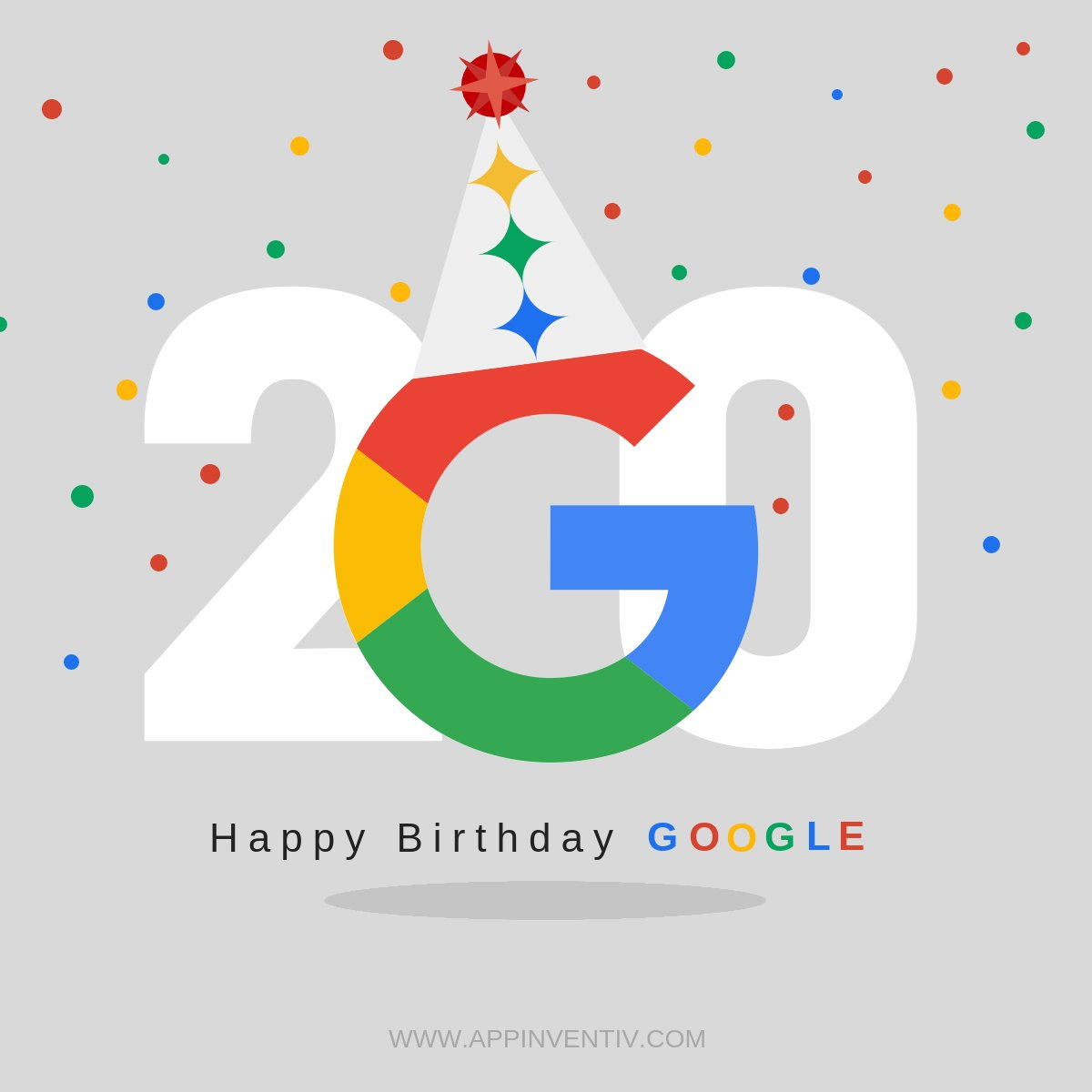 Appinventiv On Twitter Google Turns 20 Today Thank You