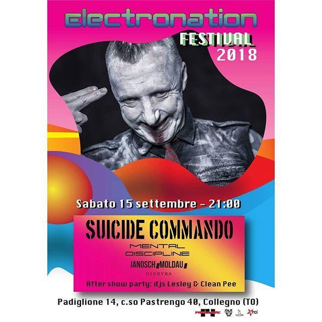 Padiglione 14 Collegno.Torino Live On Twitter 28 09 Suicide Commando Padiglione