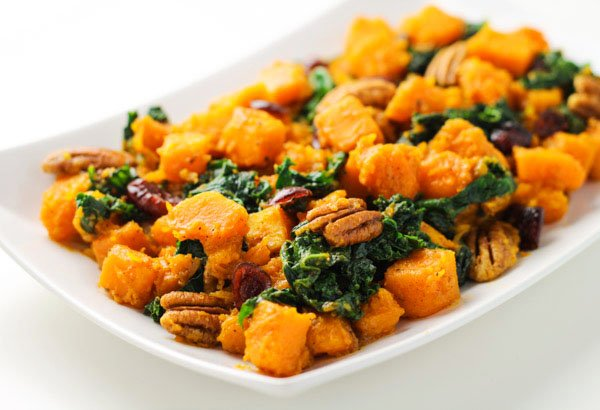 Butternut Squash and Kale Stir Fry with Maple Vinaigrette - #fall #recipes https://t.co/Kw7j0WLOBT https://t.co/qfOFaWruqZ
