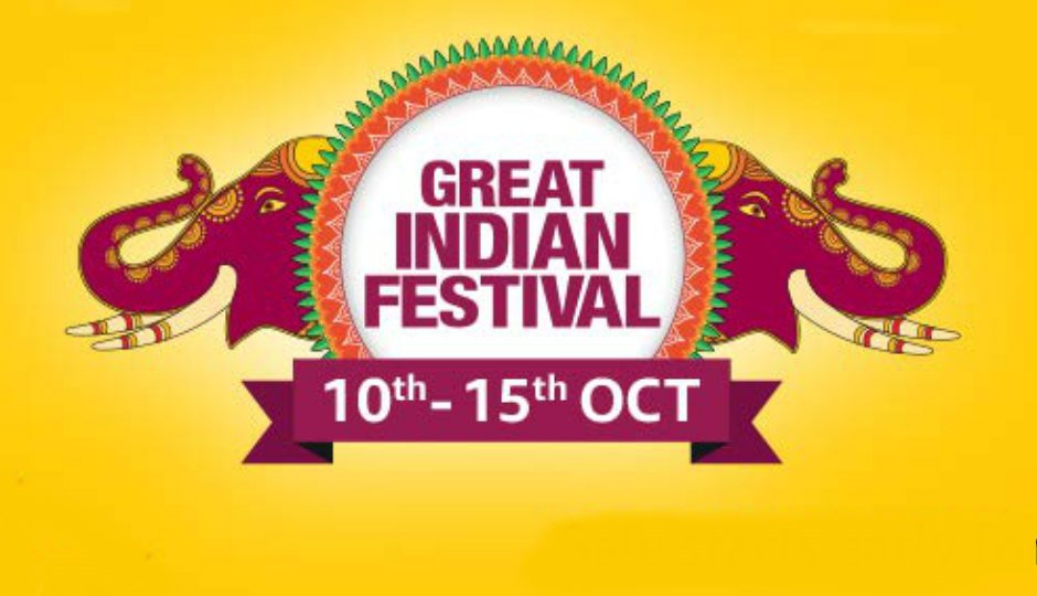 Image result for एमजॉन ला रहा है 10 से 15 अक्टूबर के ग्रेट इंडियन फेस्टिवल