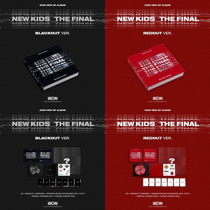 🌻 พรี NEW KIDS : THE FINAL + แบบแกะเลือกการ์ด + ❤️ 580