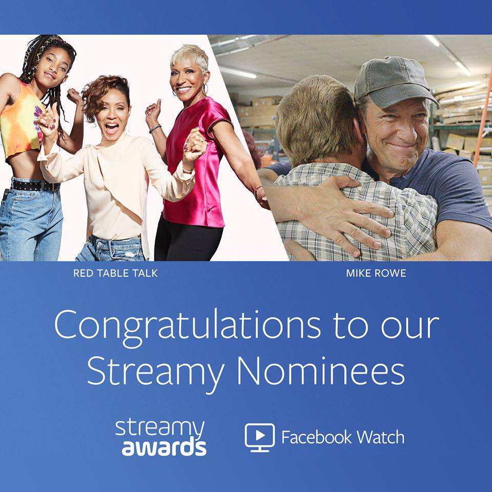"""I awoke relieved to greet the new day w/a steady & powerful #stream. This is no small matter at my age, a steady & powerful stream is no longer guaranteed & to be officially acknowledged for being """"streamy"""" is an #honor I take seriously. bit.ly/StreamyNom #Watch #Streamy"""
