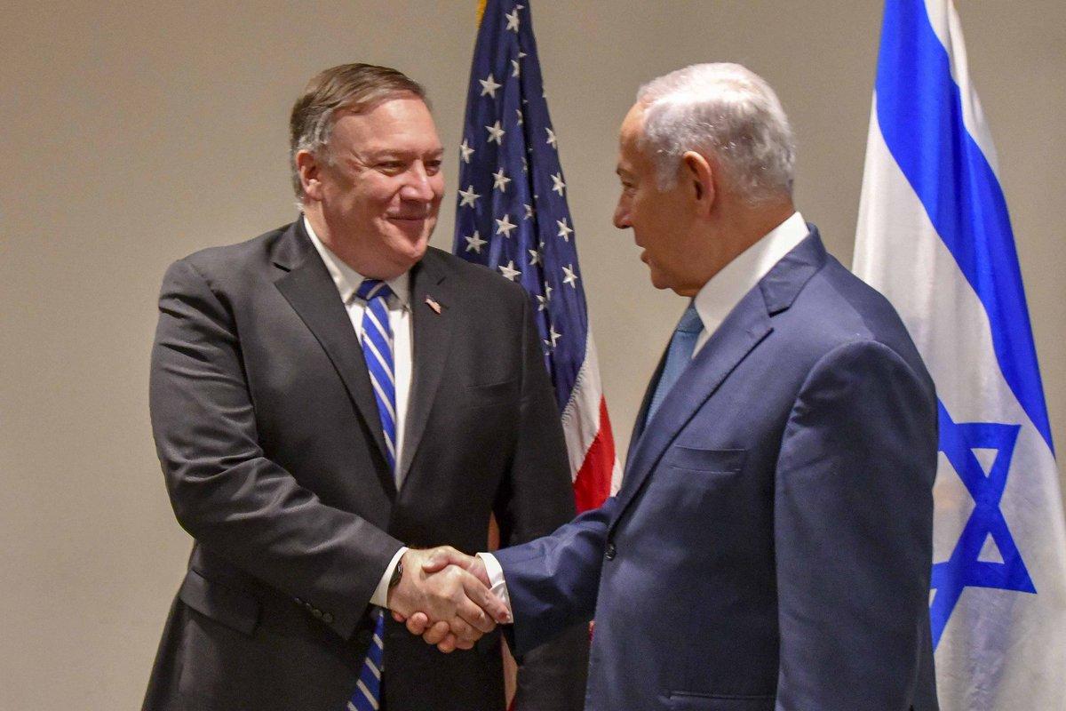 Помпео: Господь, возможно, послал Трампа на землю для того, чтобы спасти Израиль от Ирана