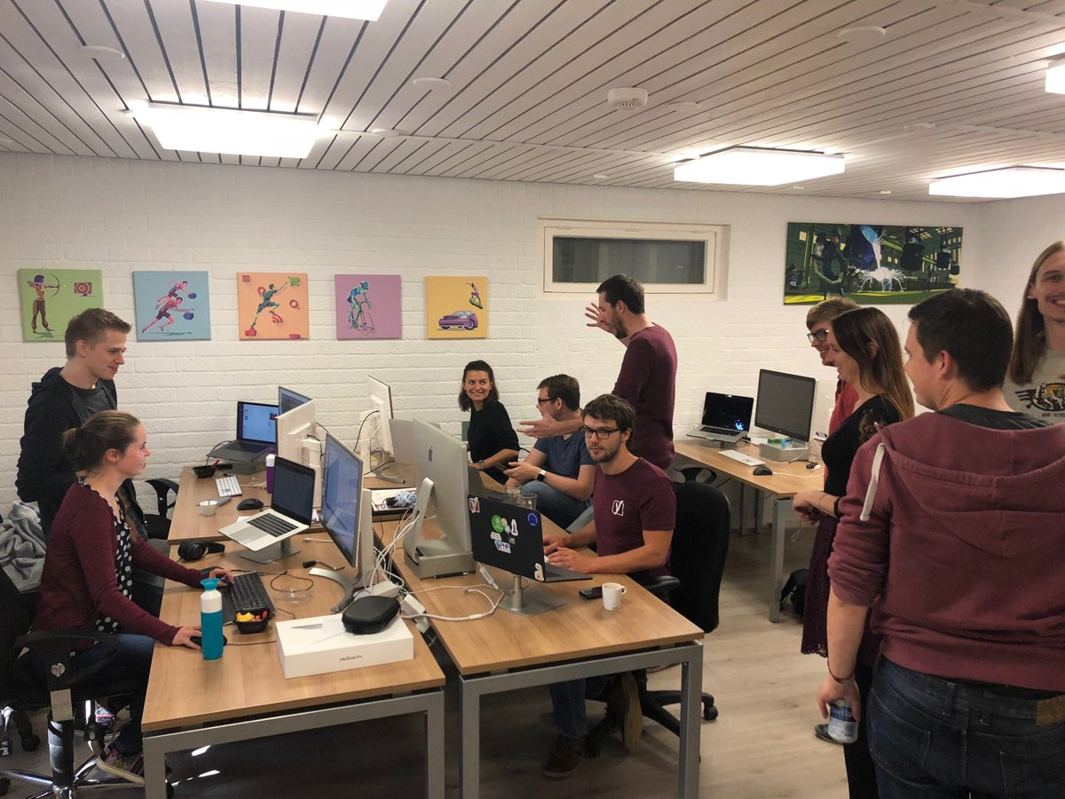 No Time For Rest At #Yoast Today. All Our Developers Gathered Their Skills  And