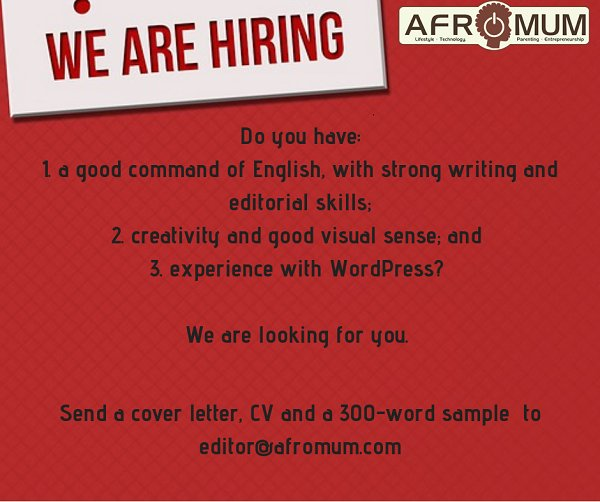 Editors Wanted- Magazine - Opportunities For Young Kenyans