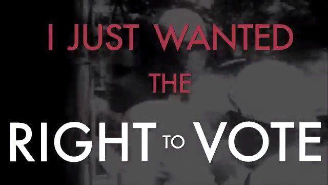 I just made up my mind that I was going to be a registered voter. In the summer of 1964, hundreds of volunteers risked their lives to register Black Mississippians to vote. #VoterRegistrationDay