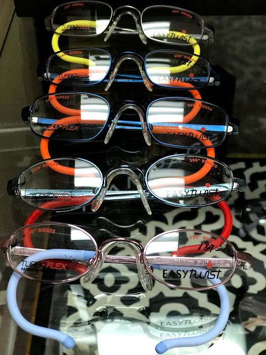 50c706fe968 Take a look at these TWISTABLE glasses with EXCLUSIVE 360° hinge made with  kids in mind. Available at  VisionaryEyecare.  wallingford  ct  eyecare   eyewear ...