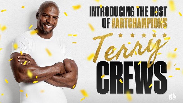 America's Got @terrycrews! Meet your host of #AGTChampions!🎉