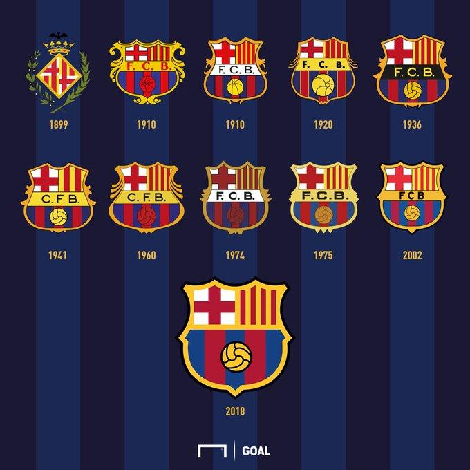 fc barcelona s redesigned crest gets likened to knockoff version of old logo brandikaran fc barcelona s redesigned crest gets