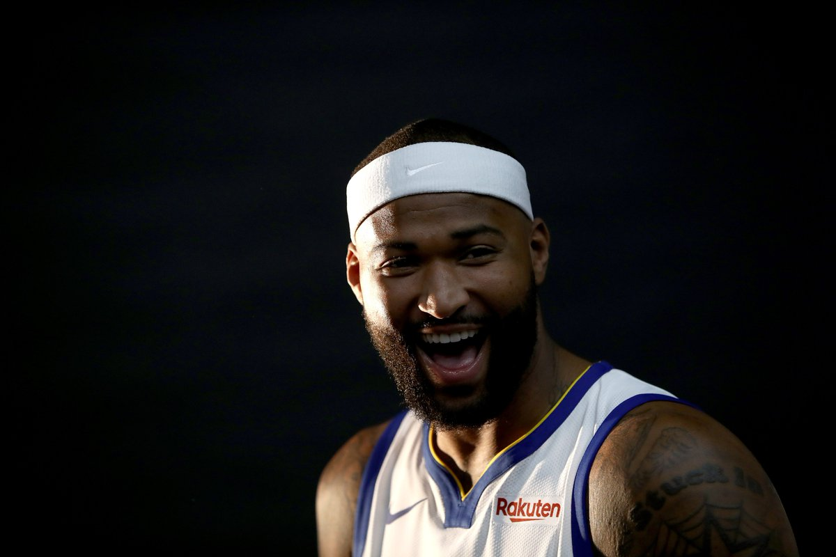 bf377da35 DeMarcus Cousins actually initiated contact with the Warriors this  summer... and GM Bob