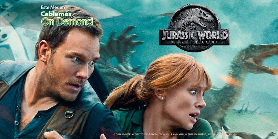 Blue sigue perdido, un volcán está a punto de hacer erupción y hay una nueva y peligrosa especie de dinosaurio... ¡OTRA VEZ! 😱 Ahora en Cablemás On Demand, 'Jurassic World: El reino caído'. https://t.co/wwy0KM6XzS