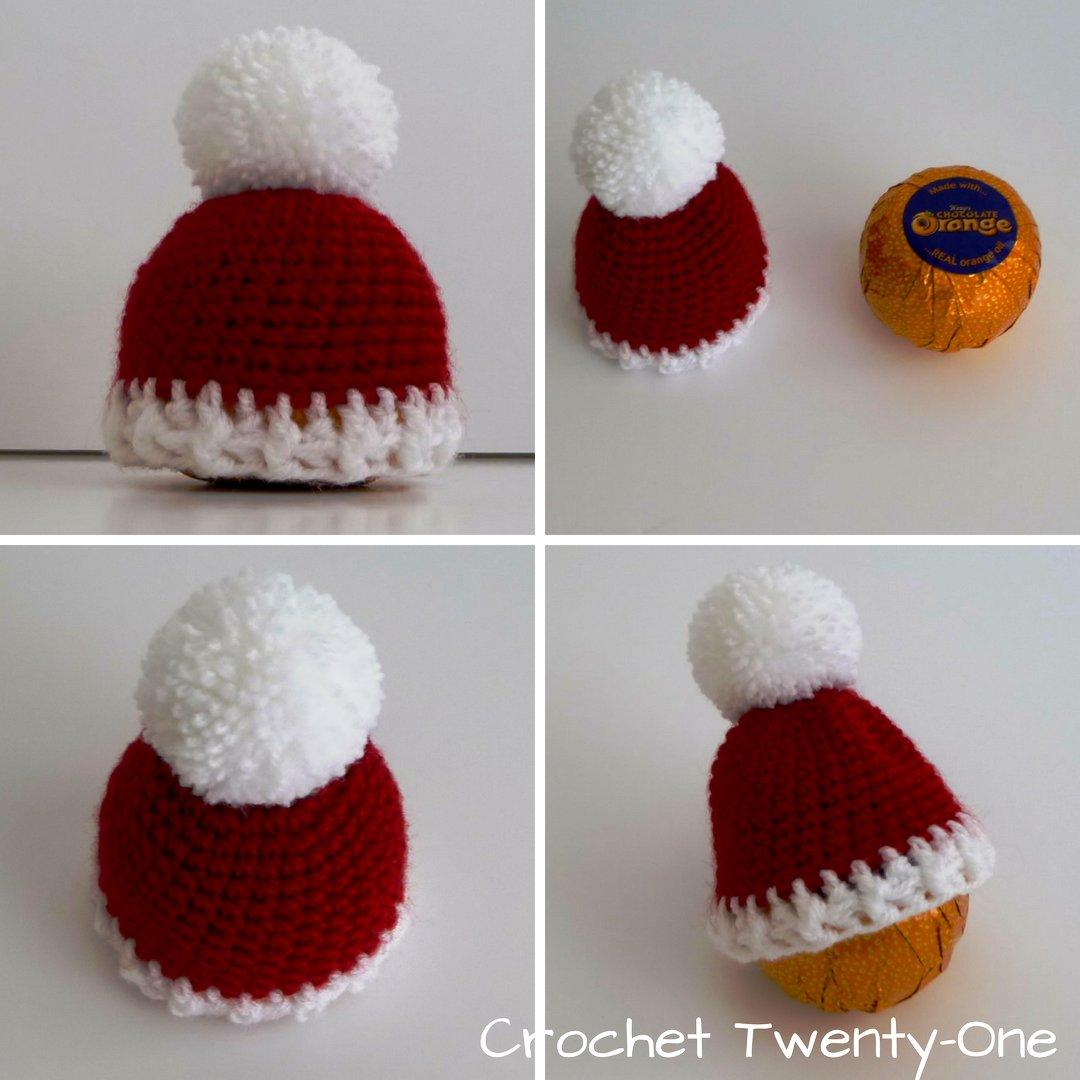 Santa chocolate orange hat.  RTmeBB  christmas  christmas2018  santahat   fatherchristmas  bobblehat  chocolateorange  terryschocolateorange ... 0bf616e0089