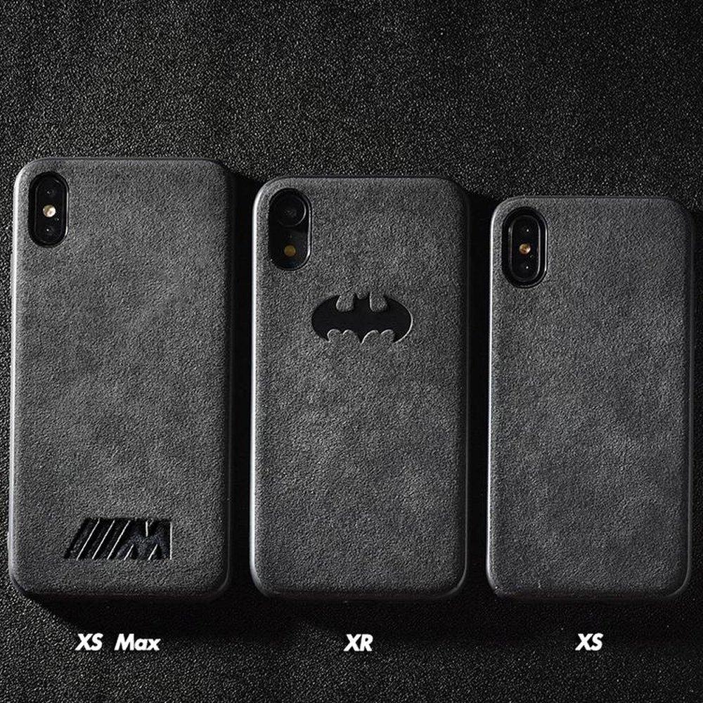 alcantara iphone xs case