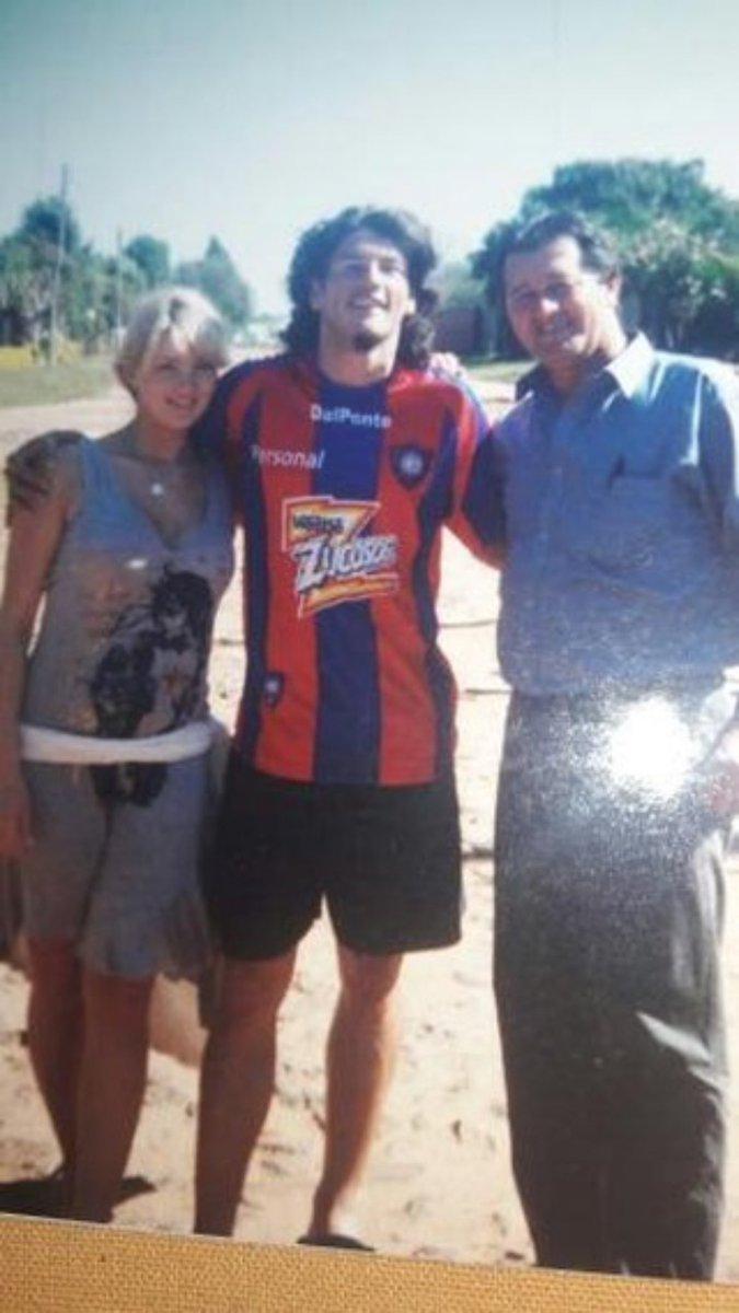 #tbt 2006 Hermosa foto en mi querido San Joaquin con la camiseta del ídolo y amigo Walter Fretes 💪🏼🔵🔴
