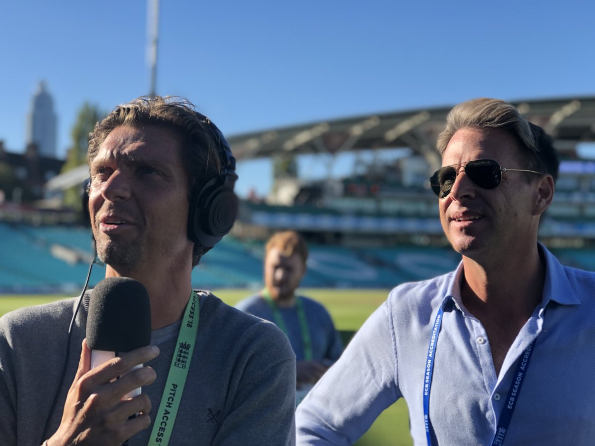Delighted for the magnificent @backandacross and @johnnybarran who've followed @surreycricket through thick and thin. #bbccricket