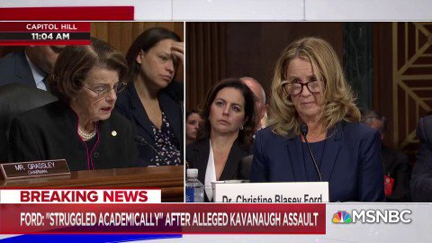 """NEW: Dr. Ford says her accusation against Kavanaugh could """"absolutely not"""" be a case of mistaken identity https://t.co/iszCIul0Jt"""