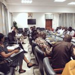 Image for the Tweet beginning: Successful quarterly #GhanaVPs meeting at