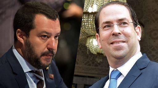 Il premier tunisino Youssef Chahed ha rifiutato di vedere Salvini che è in visita in Tunisia (fonti media locali)  https://t.co/yylKKHLq73