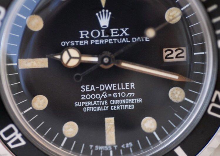 8fb581096c  1665rail  sea  dweller  vintage  vintagewatch  vintagetimepiece  sd  sub   submarinerpic.twitter.com YioaSMWnST