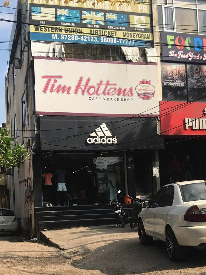 Tim Hortons is seeking to shut down an apparent knock-off restaurant in India, whose logo and branding appear to mimic the Canadian coffee chain right down to the font and colour of the logo https://t.co/ZI3iac2uxY