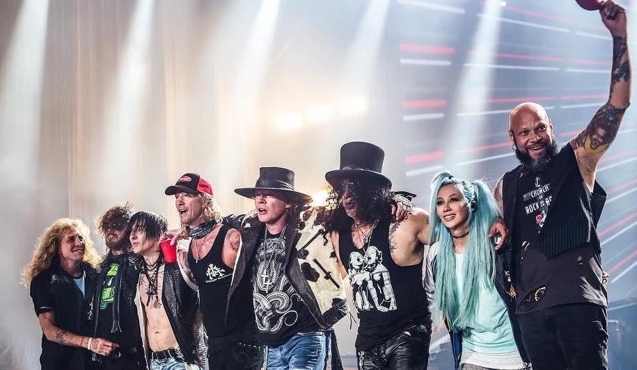 guns n roses tour 2019