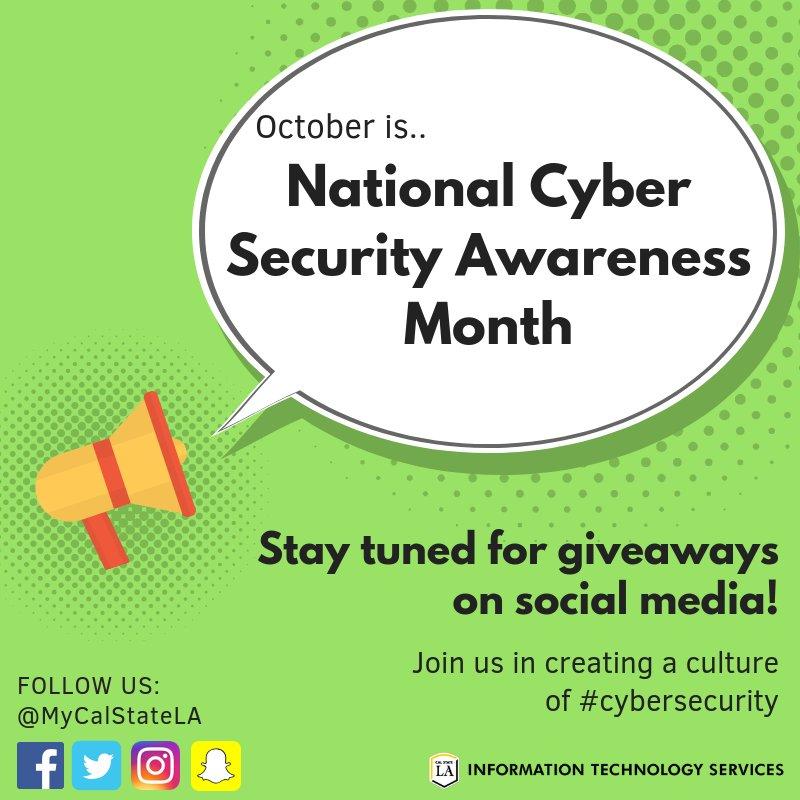 Internet security awareness giveaways
